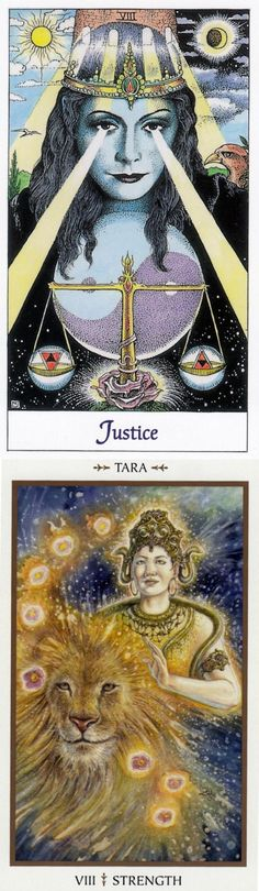 STRENGTH: inner understanding that radiates power and insecurity (reverse). Cosmic Tarot deck and Animals Divine Tarot deck: tarot jewelry, tarot mini vs free phycic reading. Best 2017 tarot deck blessing and divination methods. #magician #spell #witchcraft #tarotmeaning #halloween