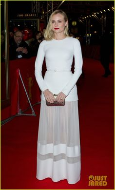 diane kruger attends second berlin premiere in one night 01 Diane Kruger looks white hot at the premiere of her film The Better Angels held during he 2014 Berlin International Film Festival on Monday evening (February 10)…