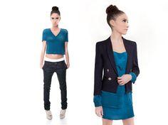 MCSELECTS COLLECTION FALL 2010 #womenswear #woventeeshirt #blazer #denim #silkdress #womensfashion #fashiondesigner #designer