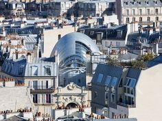 パリに出現した「アルマジロ型のビル」:ギャラリー|日経BP社 ケンプラッツ