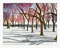 Watercolor - Canada
