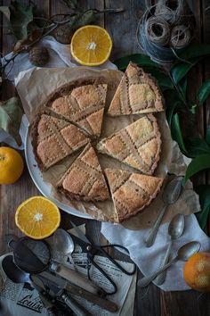 Crostata con frolla all'olio di Campi di fragole per sempre blog