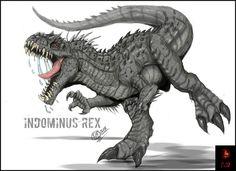 The Indominus Rex by Gabe-TKE.deviantart.com on @DeviantArt