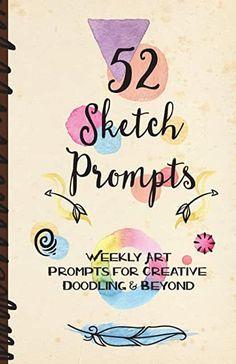 Amazon.com : drawings ideas creative Art Journal Prompts, Sketch Journal, Doodle Art Journals, Artist Journal, Writing Prompts, Journal Ideas, Journal Challenge, Drawing Prompt, Wreck This Journal