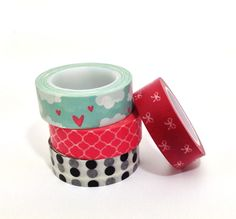 Washi Tapes Coloridas variadas - A. Craft