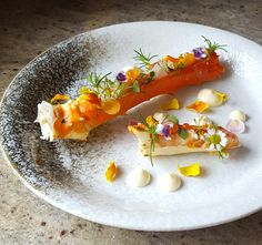 Alaskan King Crab, Trout Caviar, Baby Salad Leaves, Radish, Aioli and Edible Flower