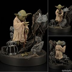 Figurine Yoda - Star Wars: Episode V – The Empire Strikes Back - JapanFigs™ The Empire Strikes Back, Hobby Shop, Star Wars Episodes, Stars, Character, Sterne, Lettering, Star