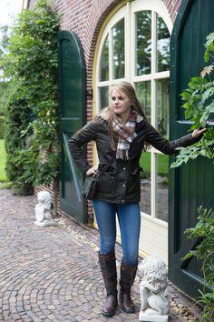 Apsley ladies jacket Barbour Wax Jacket