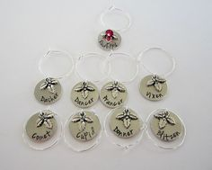 Hey, I found this really awesome Etsy listing at https://www.etsy.com/listing/212324455/set-of-9-hand-stamped-reindeer-wine