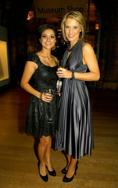 Lucy Verasamy and Charlotte Hawkins Itv Weather Girl, Weather Girl Lucy, Hottest Weather Girls, Charlotte Hawkins, Tv Girls, Tv Presenters, Satin Dresses, Beauty Women, Fashion Models