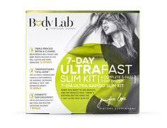 Body, meet #BodyLab . Not only does this 7-day Ultra Fast Slim Kit ...