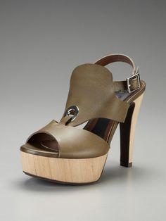 High Heel Platform Ring Sandal by Marni on Gilt.com