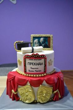 Theater cake by Zaklina