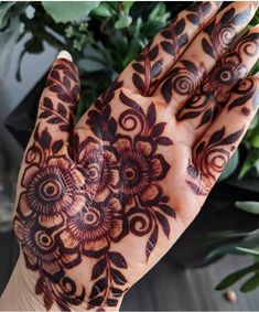 Traditional Bridal Henna Mehandi Designs 65 New Ideas Modern Henna Designs, Arabic Henna Designs, Indian Mehndi Designs, Mehndi Designs 2018, Mehndi Designs For Girls, Mehndi Designs For Beginners, Mehndi Design Pictures, Wedding Mehndi Designs, Bridal Nails Designs
