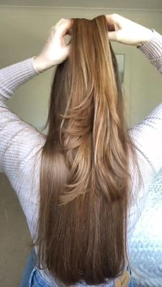 Hair Up Styles, Medium Hair Styles, Easy Hairstyles For Long Hair, Braided Hairstyles, Aesthetic Hair, Hair Videos, Hair Looks, New Hair, Ariana Grande