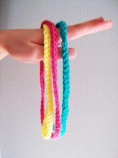 Little Things Blogged: Summer Crochet Simple Headband - PATTERN