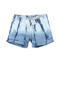 Short Garcia E30043 LOUS WOMEN 240 Dirty blue