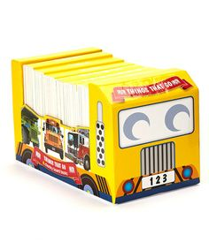 Take a look at this Things That Go Carriage Board Book Set by Penguin Group (USA) on #zulily today!