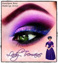 Disney inspirierte Make-up Make-up von Disney Villains inspiriert - Microblading Disney Villains Makeup, Disney Eye Makeup, Disney Inspired Makeup, Disney Villian, Maquillaje Halloween, Halloween Makeup, Witch Makeup, Halloween Eyes, Makeup Art