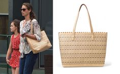 As Seen On Christy Turlington...carrying Stella & Dot's blush perf tote!  I love this bag!  www.stelladot.com/sarahtaliaferro