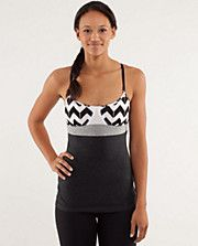 Contentment Triangle Tank @lululemon athletica!    loving the pattern on this one!