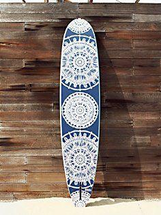 Custom Painted Surf Board