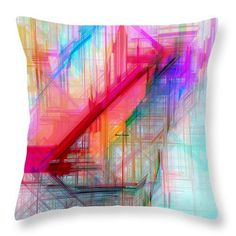 Throw Pillow - Abstract 9589