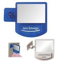 Promotional Computer Mirror Memo Holder | Customized Memo Holders | Promotional Memo Holders