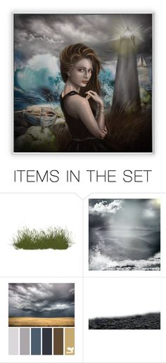 """""""Stromy Seas"""" by cathy1965 on Polyvore featuring art"""