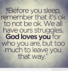 Before you sleep quote