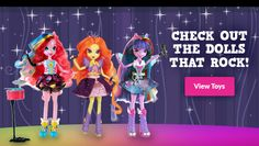 Equestria Girls™ | My Little Pony® | Toys for Girls | Games for Girls
