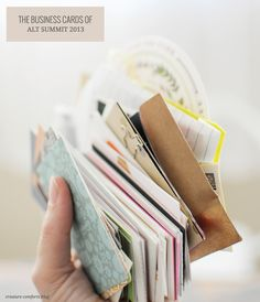 The Business Cards of Alt Summit 2013 - Home - Creature Comforts - daily inspiration, style, diy projects + freebies