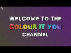 Subscribe to Colour It You - YouTube