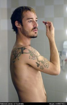 His hottness Daniel Johns of silverchair. Listened to them for 15 years +, only seen them live once (Paris 2004? I literally walked right into Guy Pierce)