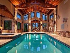 Gorgeous indoor pool