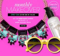 New Bauble Bar Box ~ The Monthly Makeover!