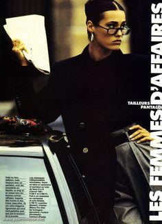 Yasmin Le bon ELLE 31 Octobre 1988