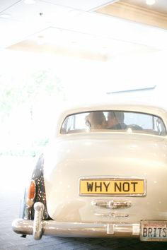 Why not? #wedding #ido #inspiration