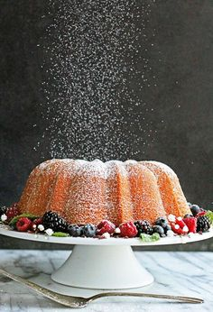 Cream Cheese Pound Cake Recipe – a true Southern dessert classic that never goes out of style. Passed down from generation to the generation, this pound cake recipe will always be a hit! Best Pound Cake Recipe, Pound Cake Recipes, Cupcakes, Cupcake Cakes, Bundt Cakes, Multi Grain Bread, Muffins, Southern Desserts, Cream Cheese Pound Cake