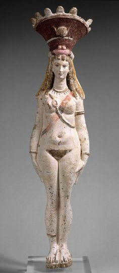 Terracotta Figure of Isis-Aphrodite [Egyptian, 2nd-3rd century] | The Metropolitan Museum of Art