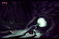 Into the Battle - by Jean-Francois P My first ever boss battle in any video game. holy hell that spider was SCARY.