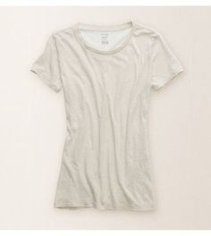 Heather Fawn Aerie Best T Crew - Let's get real. Every girl need her Best T! #Aerie