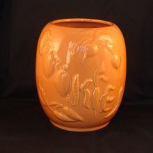 Rare Vintage Hull Pottery Vegetables Cookie Jar Bottom - Cantaloupe Color