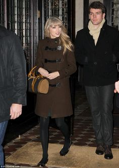 Family ties: Taylor Swift was seen heading out for dinner with her brother Austin on New Year's Eve