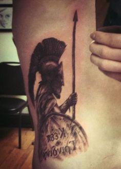 Spartan Tattoo - http://16tattoo.com/spartan-tattoo/