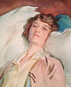 Lonny Editors' Me Moments: John Singer Sargent Watercolors - Me ...