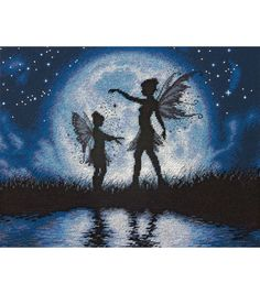 Twilight Silhouette Cross Stitch