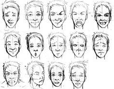expressões faciais - Pesquisa Google