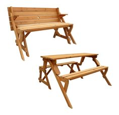 9 best furniture craft images on pinterest bench for Leisure craft picnic tables