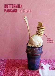 Buttermilk Pancake Ice Cream // take a megabite